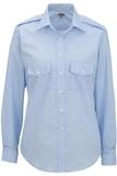 Women's Long-sleeve Navigator Shirt Blue Thumbnail