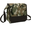 Lunch Cooler Messenger Bag Military Camo with Black Thumbnail