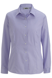 Women's No-iron Stay Collar Dress Shirt Lavender Thumbnail