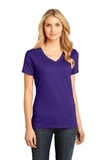 Women's Perfect Weight V-neck Tee Purple Thumbnail