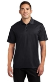 Tall Micropique Sport-wick Polo Black Thumbnail