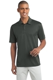 Tall Silk Touch Performance Polo Steel Grey Thumbnail