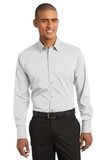 Stretch Poplin Shirt White Thumbnail