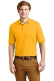 Spotshield 5.6-ounce Jersey Knit Polo Shirt Gold Thumbnail