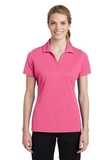 Women's Sport-Tek PosiCharge RacerMesh Polo Bright Pink Thumbnail