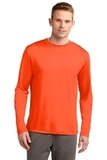 Competitor Long Sleeve Tee Neon Orange Thumbnail