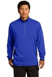 Nike Golf Dri-Fit 1/2-Zip Cover-up Game Royal with Black and White Thumbnail