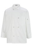 Men's Poly / Cotton Chef Coat White Thumbnail