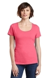 Women's Made Perfect Weight Scoop Tee Coral Thumbnail