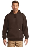 Carhartt Midweight Hooded Sweatshirt Dark Brown Thumbnail