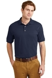 Ultra Blend 5.6-ounce Jersey Knit Sport Shirt Navy Thumbnail