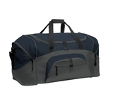 Colorblock Sport Duffel Navy with Dark Charcoal Thumbnail