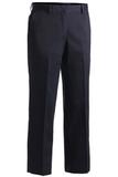 Women's Flat Front Pant Navy Thumbnail