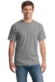 Heavy Cotton 100 Cotton T-shirt Sport Grey Thumbnail