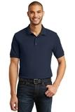 6.5-Ounce 100 Double Pique Cotton Sport Shirt Navy Thumbnail