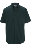Men's Cotton Rich Short Sleeve Twill Shirt Forest Thumbnail