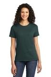 Women's Essential T-shirt Dark Green Thumbnail