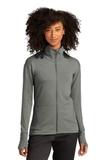 Sport-Tek ® Ladies Sport-Wick ® Flex Fleece Full-Zip Light Grey Heather Thumbnail