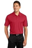 Active Textured Colorblock Polo True Red with Grey Thumbnail