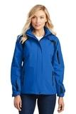 Women's All-season II Jacket Snorkel Blue with Black Thumbnail