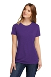 Next Level Women's CVC Tee Purple Rush Thumbnail