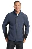 Port Authority R-tek Pro Fleece Full-zip Jacket Navy Heather with Black Thumbnail