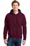 Ultrablend Pullover Hooded Sweatshirt Maroon Thumbnail
