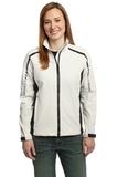 Women's Embark Soft Shell Jacket Sea Salt White with Deep Grey Thumbnail