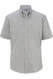 Men's Pinpoint Oxford Shirt SS Dark Grey Thumbnail