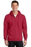 Full-zip Hooded Sweatshirt Red Thumbnail