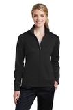Women's Sport-Wick Fleece Full-Zip Jacket Black Thumbnail