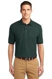 Tall Sized Silk Touch Polo Shirt Dark Green Thumbnail