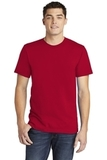 American Apparel Fine Jersey T-Shirt Red Thumbnail