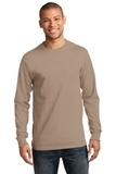 Essential Long Sleeve T-shirt Sand Thumbnail