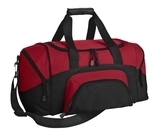 Improved Colorblock Small Sport Duffel True Red with Black Thumbnail