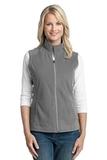 Women's Microfleece Vest Pearl Grey Thumbnail