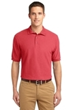 Extended Size Silk Touch Polo Shirt Hibiscus Thumbnail