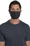 Cotton Knit Face Mask (5 Pack) Black Thumbnail