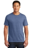 50/50 Cotton / Poly T-shirt Vintage Heather Blue Thumbnail