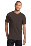 100 Cotton T-shirt With Pocket Brown Thumbnail