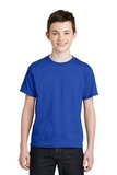 Youth Ultra Blend 50/50 Cotton / Poly T-shirt Royal Thumbnail
