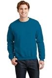 Heavy Blend Crewneck Sweatshirt Antique Sapphire Thumbnail
