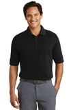 Nike Golf Shirt Dri-FIT Pique II Black Thumbnail
