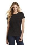 Women's Fitted Perfect Tri Tee Black Frost Thumbnail