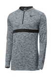 Nike Men's Half-Zip Golf Top Wolf Grey with Black Thumbnail