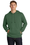 Lightweight French Terry Pullover Hoodie Forest Green Heather Thumbnail