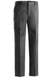 Men's Flat Front Pant Dark Grey Thumbnail