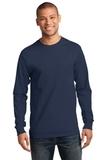 Essential Long Sleeve T-shirt Navy Thumbnail