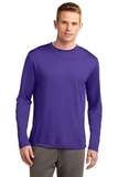 Competitor Long Sleeve Tee Purple Thumbnail