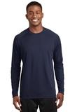 Dry Zone Long Sleeve Raglan T-shirt True Navy Thumbnail